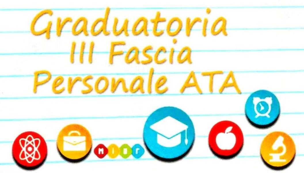 Avviso n. 517 - Pubblicazione Graduatorie Provvisorie III fascia personale ATA