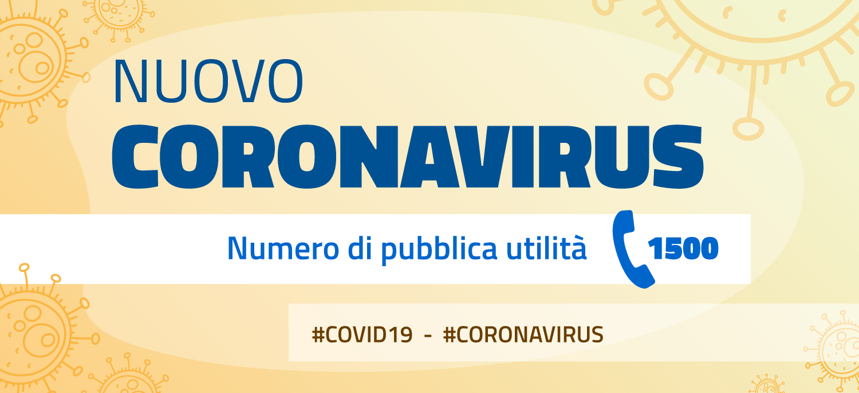 CORONAVIRUS - RACCOLTA NORMATIVA