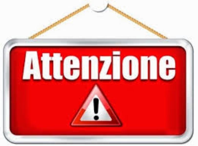 Avviso n. 434 -  Comunicazione urgente - Ordina...